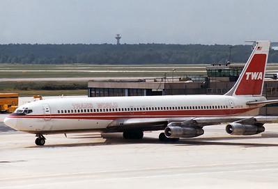 Boeing 707-331B Trans World Airlines - TWA REG: N775TW  Frankfurt am Main (Rhein-Main AB) (FRA / EDDF / FRF) Germany May 1980