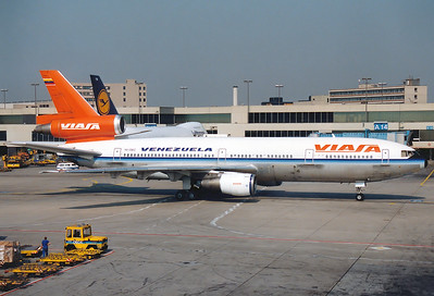 McDonnell Douglas DC-10-30 Viasa REG: YV-136C  Frankfurt am Main (Rhein-Main AB) (FRA / EDDF / FRF) Germany August 1990