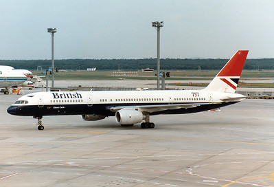 British Airways   G-BIKM Boeing 757-236 MSN: 22184 Frankfurt am Main (Rhein-Main AB) (FRA / EDDF) Germany - August 18, 1985