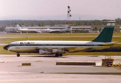 El Al Israel Airlines   N792FA Boeing 707-138B SN: 17701, 19.8.1978