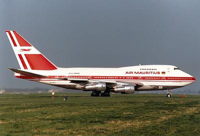 Air Mauritius REG: 3B-NAJ Boeing 747SP-44 MSN: 21132 Munich - Riem (MUC / EDDM)  Germany - May 1987