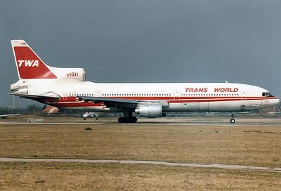 Trans World Airlines - TWA   Lockheed L-1011-385-1-15 TriStar 100   N7035T   Munich - Riem (MUC / EDDM)   Germany  February 1984