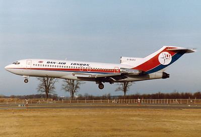 Boeing 727-46 Dan-Air London REG: G-BAFZ  Munich - Riem (MUC / EDDM) [CLOSED] Germany January 1, 1984