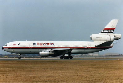 Laker Airways Skytrain REG: G-BBSZ McDonnell Douglas DC-10-10 MSN: 46727 Munich - Riem (MUC / EDDM) [CLOSED] Germany - February 15, 1981  Canterbury Belle