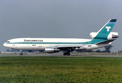 4.10.1980: Transamerica Airlines McDonnell Douglas DC-10-30CF München - Riem (MUC / EDDM) (closed) N103TV (cn 46802/110)