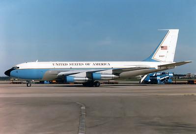 USA - Air Force  Boeing VC-135B Stratolifter (717-158) MSN: 18467 Reg.: 62-4127  Munich - Riem (MUC / EDDM)  Germany  June 1983