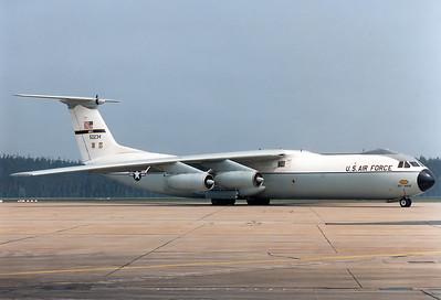 USA - Air Force   Lockheed C-141B Starlifter  MSN: 300-6085 Reg.: 65-0234  Nuremberg (NUE / EDDN)  Germany  June 1991