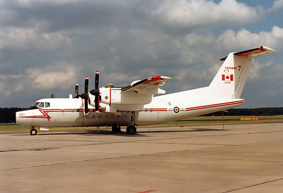 Canada - Air Force De Havilland Canada CC-132 Dash 7 (DHC-7) Reg.: 132001 MSN: 8  Nuremberg (NUE / EDDN) Germany - August 30, 1980