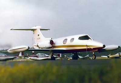 Lear Jet 24   D-ICAR MSN: 24A-169  Nuremberg (NUE / EDDN) Germany - June 1978