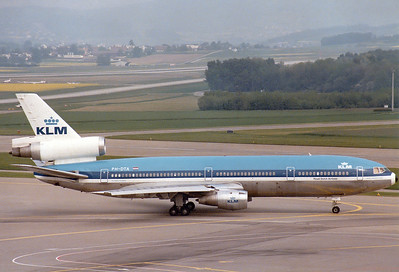 McDonnell Douglas DC-10-30 KLM - Royal Dutch Airlines REG: PH-DTA    Zurich (- Kloten) (ZRH / LSZH) Switzerland May 25, 1980