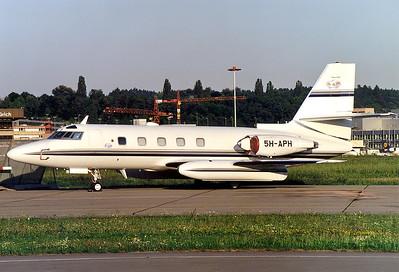 Lockheed L-1329 JetStar II  Zurich (- Kloten) (ZRH / LSZH) Switzerland, August 2000  5H-APH (cn 5219)