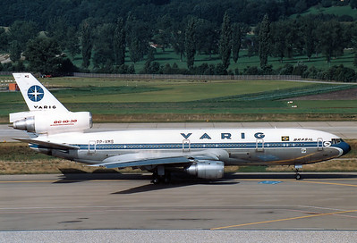 McDonnell Douglas DC-10-30 Varig REG: PP-VMS   Zurich (-Kloten) (ZRH / LSZH) Switzerland September 11, 1987