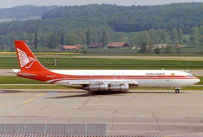 AirLanka Boeing 707-312B, 24.5.1980 Reg: 4R-ALA  Cn: 19738/725