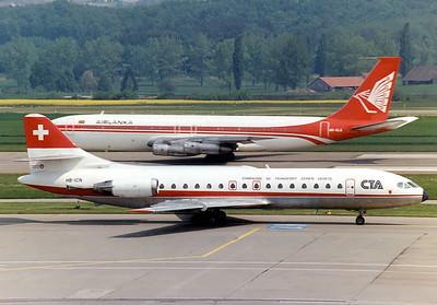 Zurich-Kloten Airport, Switzerland, Stuttgart and Prague