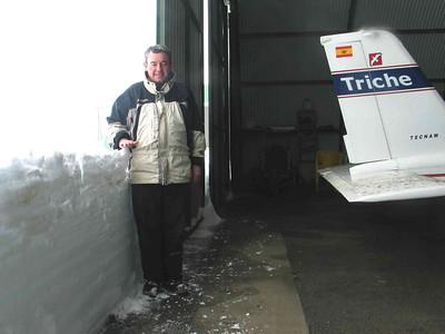 Nieve en Castejon de Sos 30/1/2006