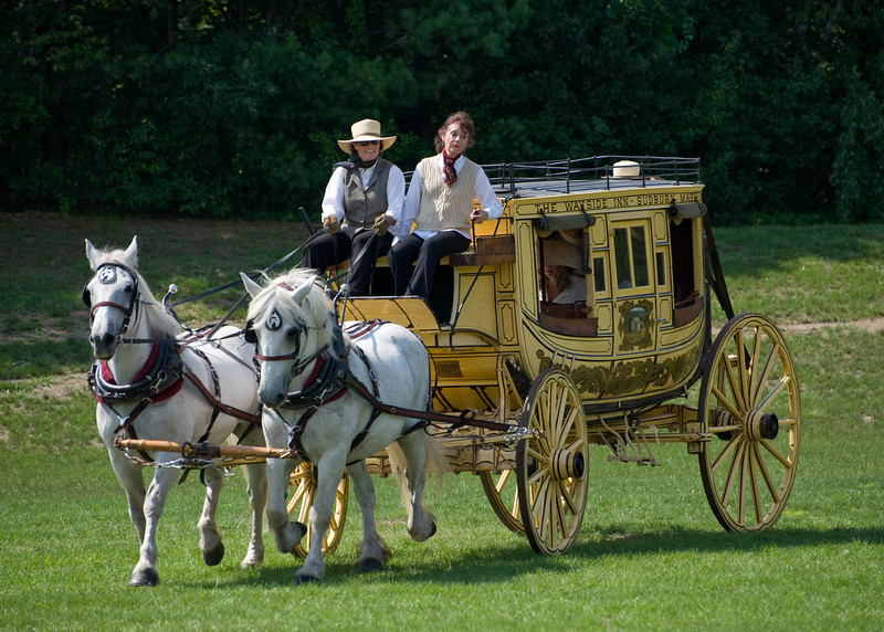 1867 Concord Stage coach from the Wayside Inn in Sudbury