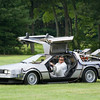 What's this?  Back to future in Stow?  A late entry showed up this weekend at The Collings Foundation Race of the Century.  Unfortunately ambiguity as exactly which century this vehicle hailed from kept it from competing in this year's races.