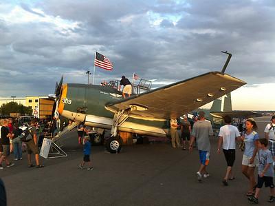 TBM Avenger torpedo bomber