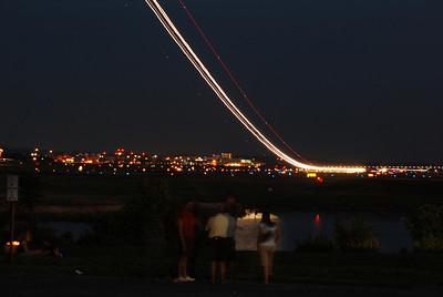 Commercial Airplanes at Reagan National (DCA)