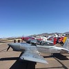 The RV-8 here next to a Stewart P-51. Both have great lines.