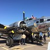 B-17 Sentimental Journey was on hand for the show.