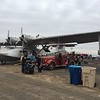 I walked around the other parts of the airshow grounds and there were some vintage warbirds there, including this PBY Catalina.