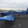 Incredible paint job on this RV-10.