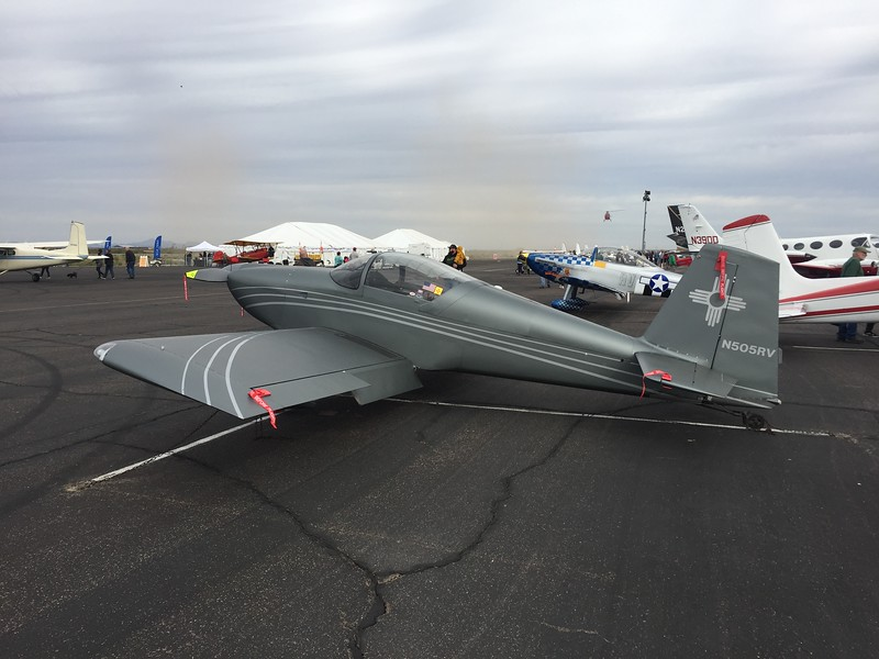 RV-7 from New Mexico.