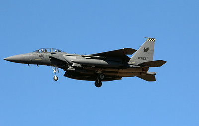 8323 SINGAPORE AIRFORCE F-15 EAGLE