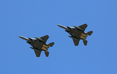 SINGAPORE AIRFORCE F-15 EAGLES