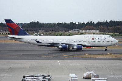 N675NW DELTA 747-400