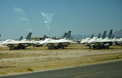 "Davis Monthan AFB aircraft ""boneyard"""