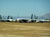 Boeing B-52H Stratofortresses in storage