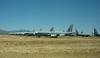 KC-135E Stratotankers in storage