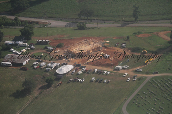 Day 2 - Rebuilding of Indian Creek Baptist - June 21, 2011