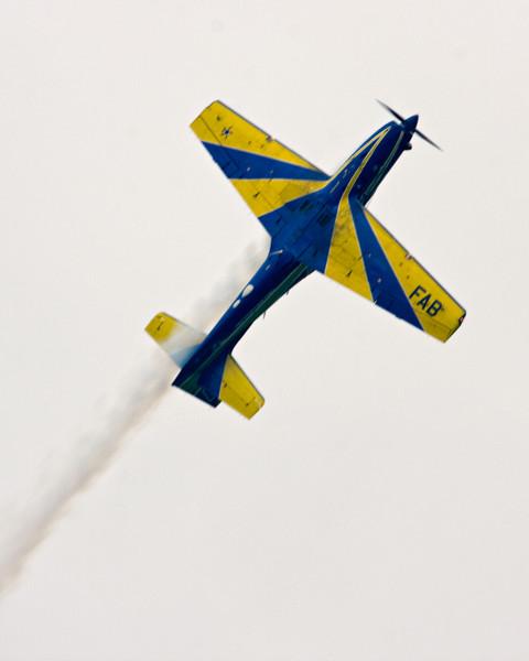 The Força Aérea Brasileira Esquadrilha da Fumaça (Brazilian Air Force Smoke Squadron)