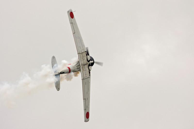 A6M Zero.  Member of the Tora Tora Tora airshow squad.