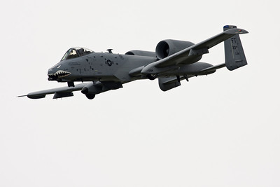 A-10 close pass.  This has always been one of my favorite aircraft.  It looks like it will take everything you throw at it, get angry and blow you up.  Maybe not in that order.