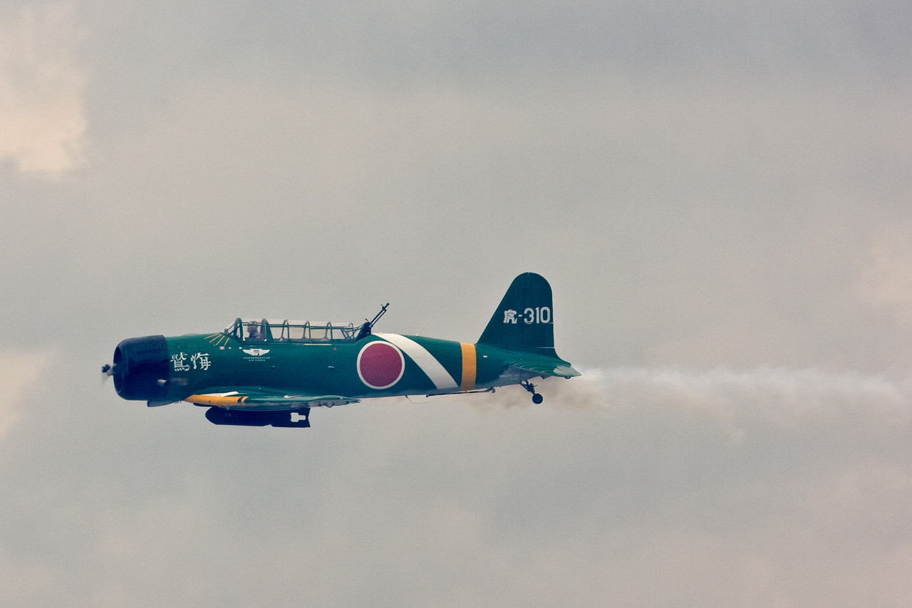 B5N Kate. Member of the Tora Tora Tora airshow squad.