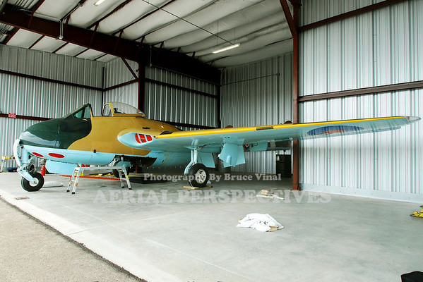 Update: Sadly, this aircraft was destroyed in a crash in Rochester N.Y. it will be missed   N6878D - 1947 DEHAVILLAND Vampire MK-3 This particular aircraft has the noble distinction of being the oldest airworthy jet in the world and for being owned by  John Travolta (1989- 1992)