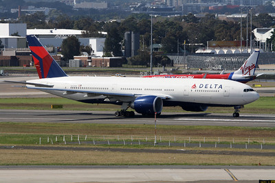 Delta Boeing 777-232LR N707DN