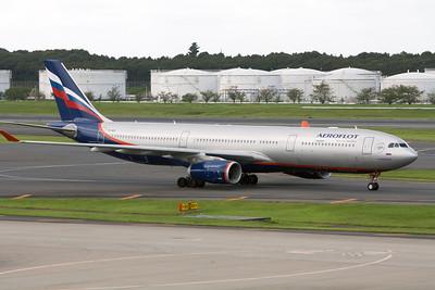 Aeroflot Airbus A330-300 VQ-BEK