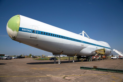 The Boeing 747 SCA's body