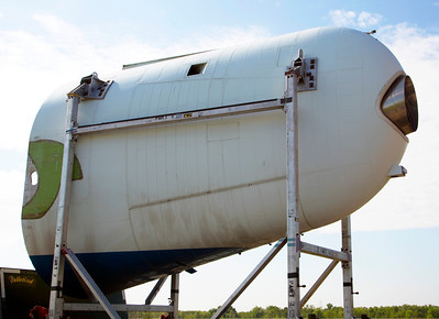 Another view of the end of the fuselage