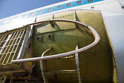 Front end of the wing attachment site