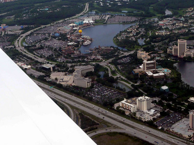 Disney World from the Air !