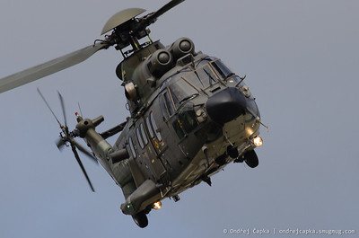 Super Puma Display Team (Eurocopter AS332 Super Puma, CH)