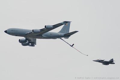 KC-135 (FR), JAS-39 Gripen (CZ)