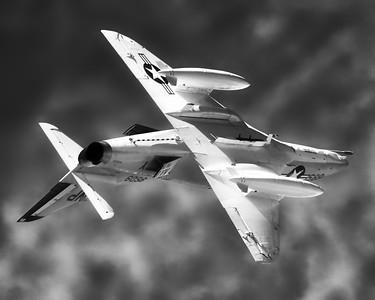 Douglas A-4B Skyhawk - Northern Illinois Air Show - Waukegan, Illinois - Photo Taken: September 10, 2016