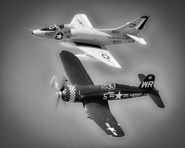 Douglas A-4B Skyhawk - Wings over Waukegan - Waukegan, Illinois - Photo Taken: September 6, 2014